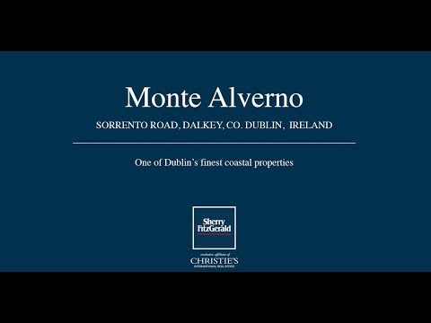 Monte Alverno, Sorrento Road, Dalkey, Co. Dublin