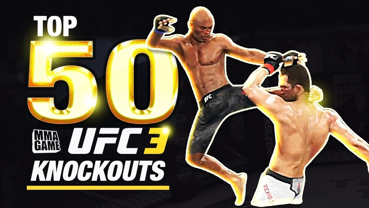 EA SPORTS UFC 3 - TOP 50 UFC 3 KNOCKOUTS - Community KO Video ep. 4