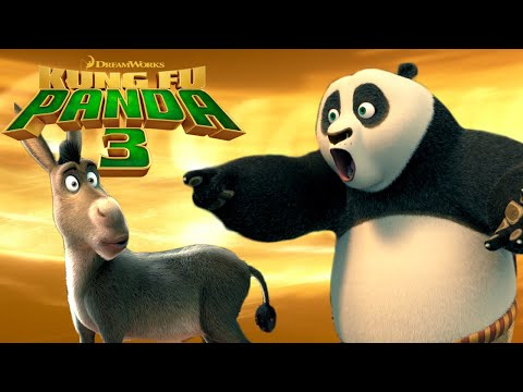 Crazy Crossover!  Shrek & Kung Fu Panda?!? | KUNG FU PANDA 3