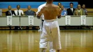 Shime Sanchin kata. Goju Ryu