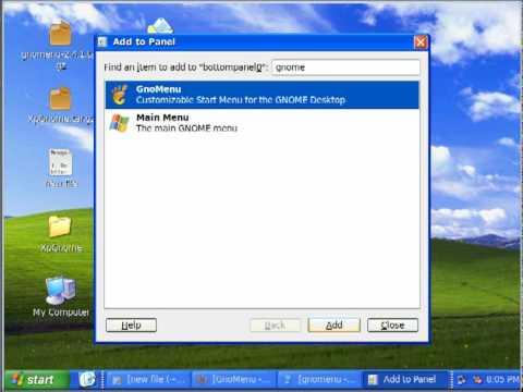 Mengubah Tampilan Ubuntu 9.10 Seperti WinXP