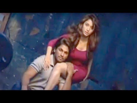 Allu Arjun, Tamannah photoshoot for Southscope - YouTube