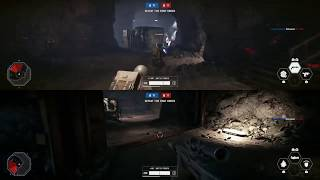 STAR WARS Battlefront II Game play W/ funny bunny