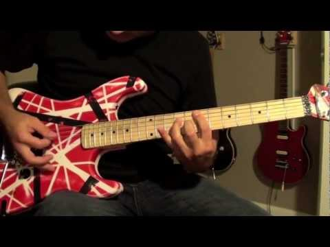 How to play 'Panama' - Van Halen - 5150GuitarLessons (sample)