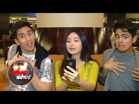 Verrell, Wilona, dan Aliando Demam Ngik Ngik Dance - Hot Shot 19 November 2017