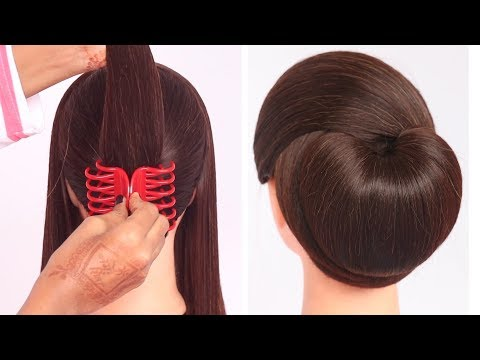 very-easy-hairstyle-with-using-clutcher-|-try-on-hairstyle-|-simple-hairstyles-|-clutcher-hairstyle