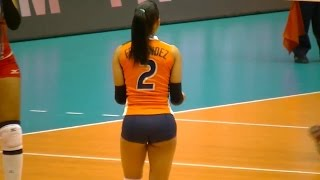 Winifer Fernandez – Beautiful Dominican female volleyball player
