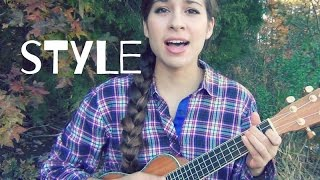 """Style"" - Taylor Swift (ukulele cover by Sarah Jones)"