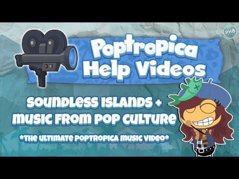 ♪ Poptropica Music Video: Soundless Islands + Pop Culture's Music ♫