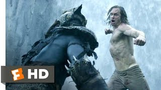 The Legend of Tarzan (2016) - Tarzan vs. Mbonga Scene (7/9) | Movieclips