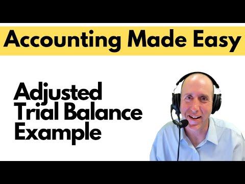 FA16 - Adjusted Trial Balance