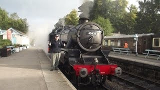 North Yorkshire Moors Railway Holiday D3 Happy Birthday Special Monday 7th October 2013
