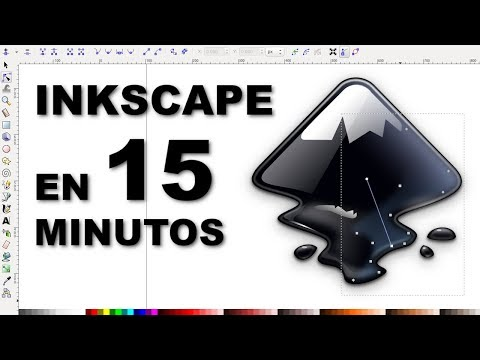Te enseño a usar Inkscape en 15 minutos (dibujo vectorial)