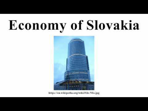 Economy of Slovakia