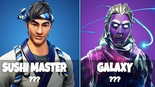 I Have These Skins In Fortnite That Noone Else Has!!