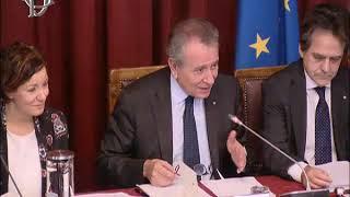 Roma - Presentazione referto in materia di informatica pubblica - Partecipa Fico (26.11.19)