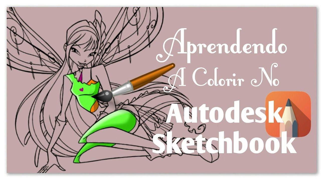 Dicas E Tutorial Como Colorir No App Autodesk Sktchbook 2