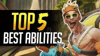 Overwatch TOP 5 BEST ABILITIES!