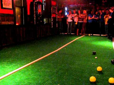 Indoor Bocce Ball - YouTube