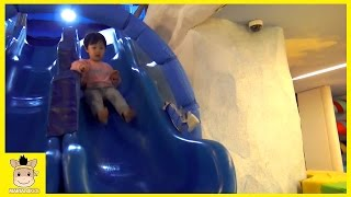 Pororo Kids Cafe Indoor Playground for Kids and Family Fun Slide | MariAndKids Toys