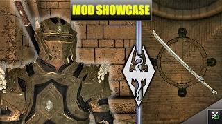 DIAMOND ARMOR AND NIGHTSABERS!!- Modded Xbox Skyrim Mod Showcase