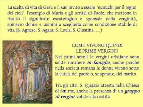Ordo Virginum bellezza antica e sempre nuova (parte 1)  -  Cenni storici