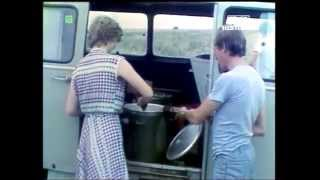 PRL 1984 Tragedia w żniwa. Sklepy wiejskie i meldunki z pól