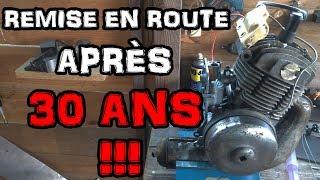 RÉFECTION MOTEUR APRÈS 30 ANS! - MOTOBÉCANE AV46