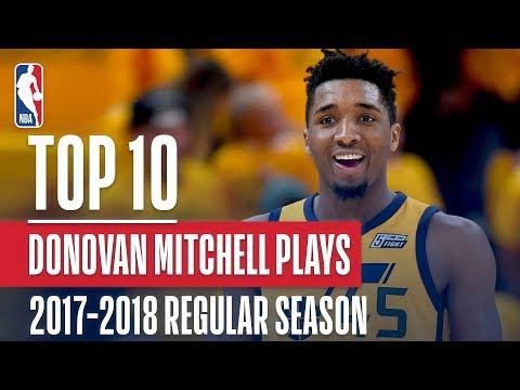 Donovan Mitchell's Top 10 Plays of the 2017-2018 NBA Regular Season