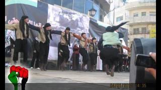 فرقة جنداس - يا خيول الأرض - مهرجان الانطلاقة (47) 2012