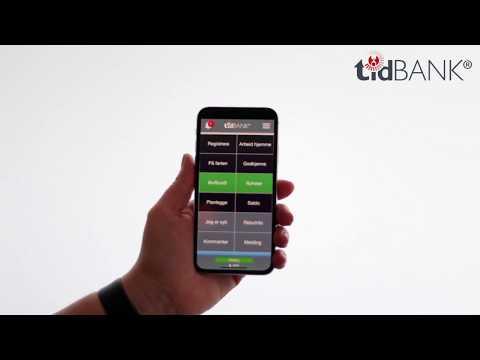 tidBANK - bruk din mobiltelefon