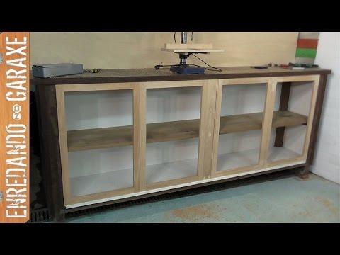 Puertas para mueble bajo de taller. Parte 1