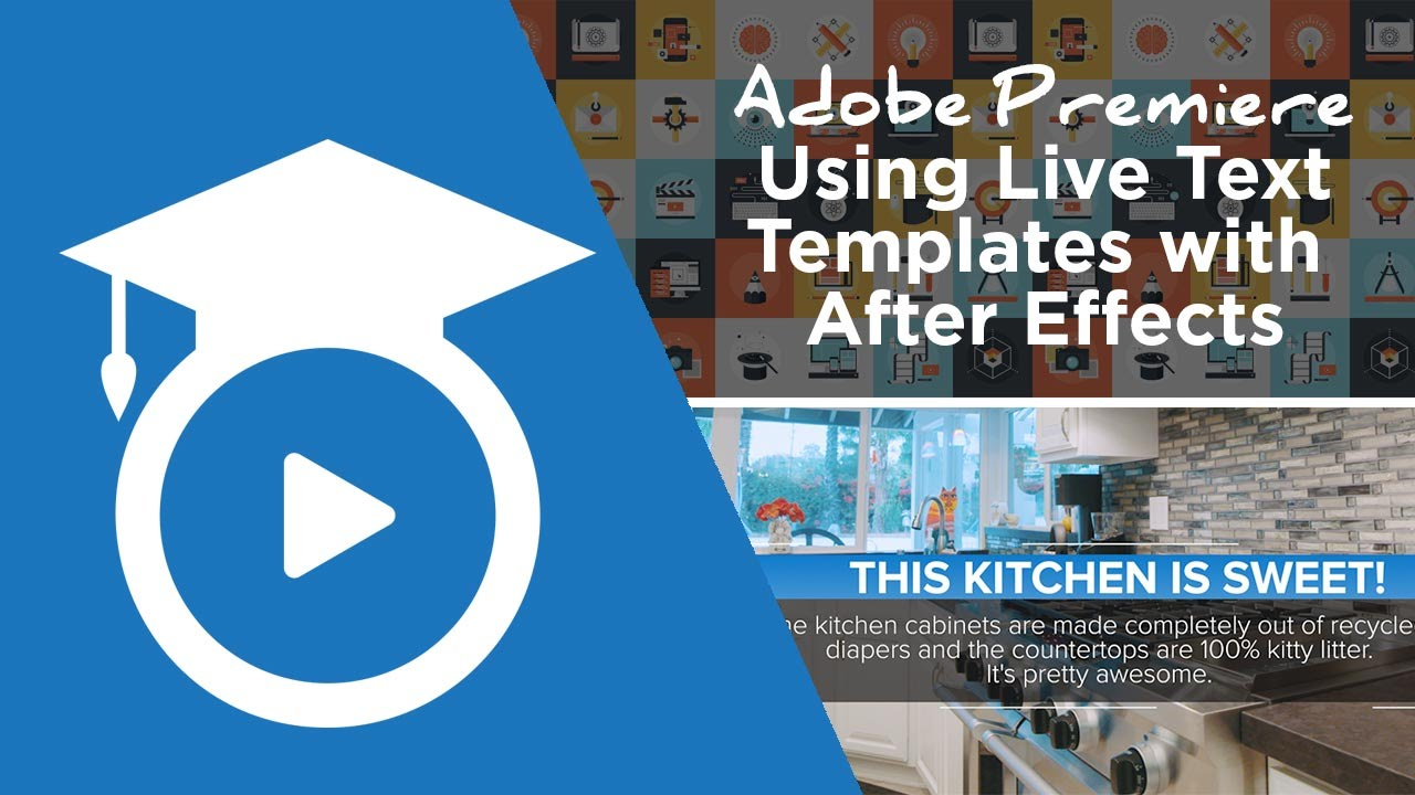 Dynamic Link in Premiere - Live Text Templates From After Effects ...
