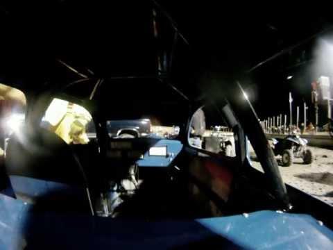 Legends Car Flip (GoPro On-Board) @ Devils Lake Speedway, ND