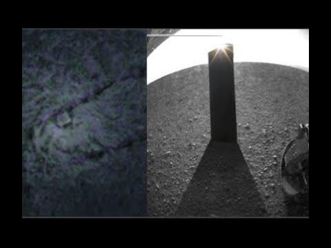Инопланетные монолиты, обнаружены на Марсе и его луне Фобосе