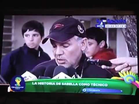 La historia de Alejandro Sabella como DT