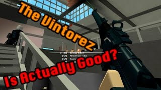 Roblox Phantom Forces - The Vintorez Is Actually Good?