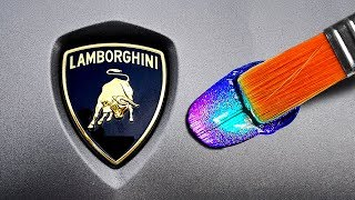 Customizing A Lamborghini, Then Giving It To My Friend!