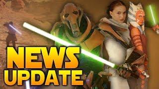 BIG NEWS: Ahsoka & Padme Audio Found + Obi-Wan & Geonosis First Look - Battlefront 2