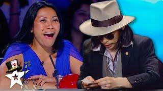 TOP Card Magician WOWS Judges on Asia'a Got Talent | Magicians Got Talent