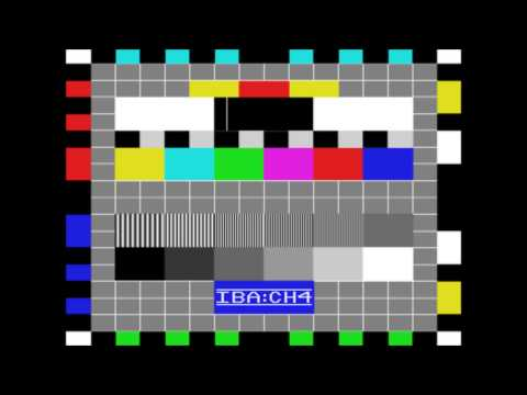 Mozart - Sonata In A 3rd Mvt Re-Creation (Channel Four Test Card DAT 7/1) - 1990 to 1992