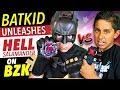 Beyblade Battle! BatKid vs Blast Zone Kid! New Beyblade Burst funny videos. Best Beyblades.