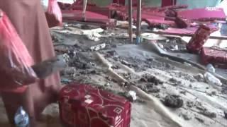 الرئيس اليمني: الانقلابيون خلف تفجير خيمة عزاء مأرب
