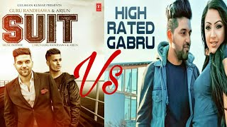 Suit suit vs high rated gabru (mashup)by dj dhruv