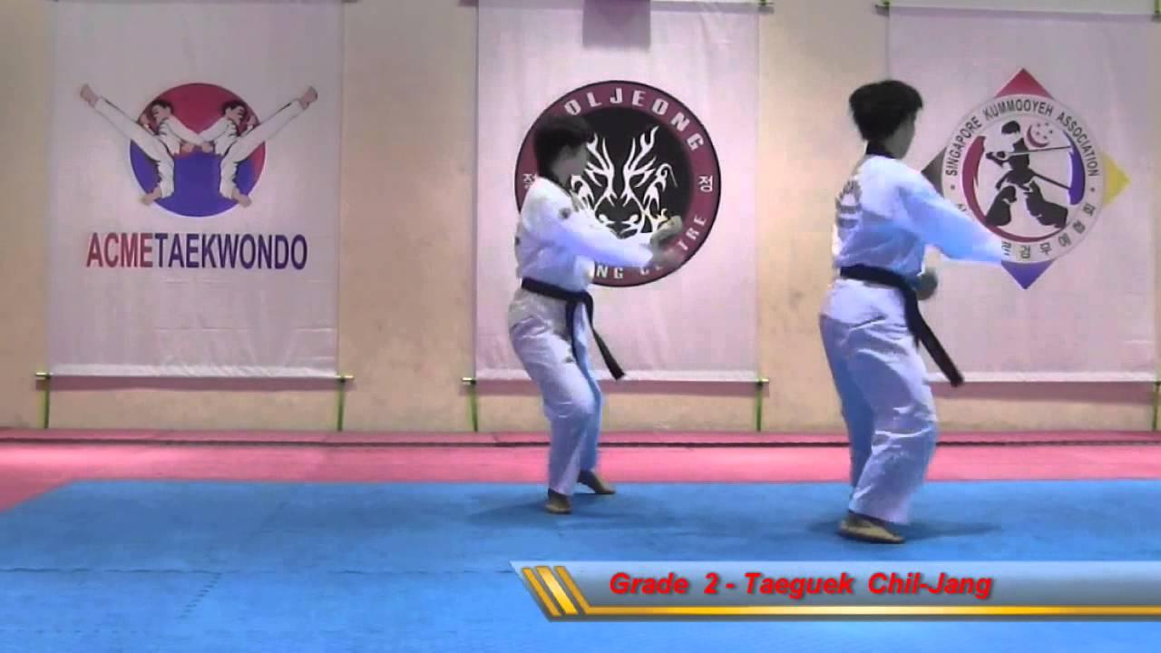 Taeguek Chil-Jang (Grade 2)