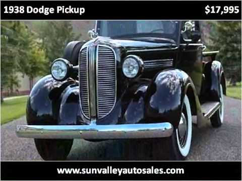 1938 dodge pickup used cars hailey id youtube. Black Bedroom Furniture Sets. Home Design Ideas