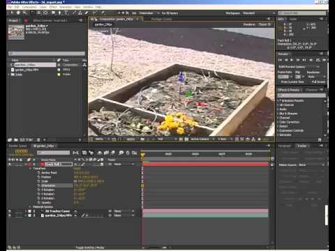 After Effects 3D camera export: position null to origin