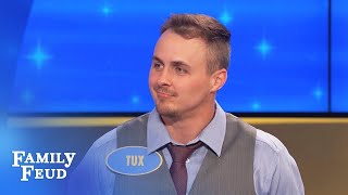 If the opposition says 'good answer'... that's BAD | Family Feud