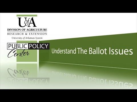 Arkansas 2016 ballot issues