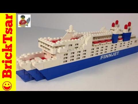 LEGO 1575 Finnlines Finnjet Ferry from 1977! Finland